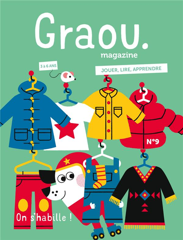 MAGAZINE GRAOU N 10 - ON S'HABILLE !